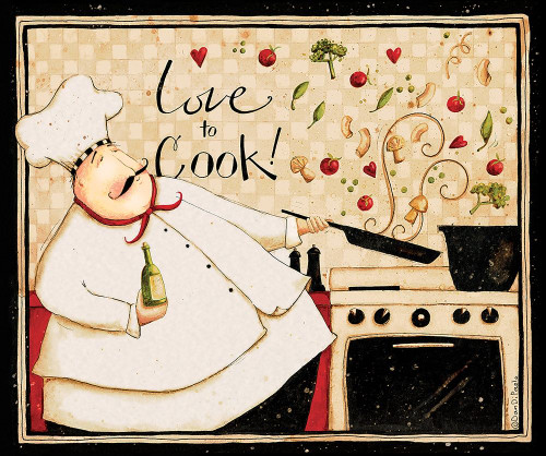 Love To Cook Poster Print by Dan DiPaolo - Item # VARPDXDDPRC561