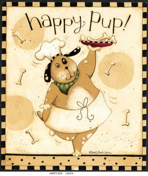 Happy Poster Print by Dan DiPaolo - Item # VARPDXDDPSQ324B