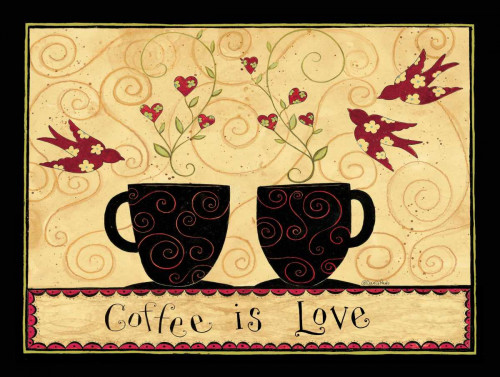 Blended Coffee Poster Print by Dan DiPaolo - Item # VARPDXDDPXRC002A