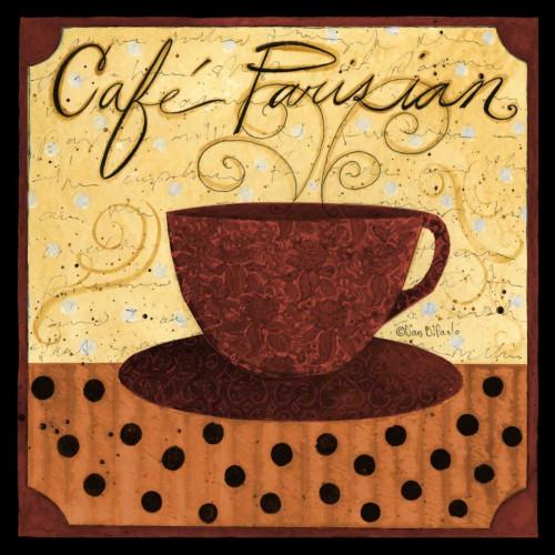 Cafe Parisian           Poster Print by Dan DiPaolo - Item # VARPDXDDPXSQ309C1