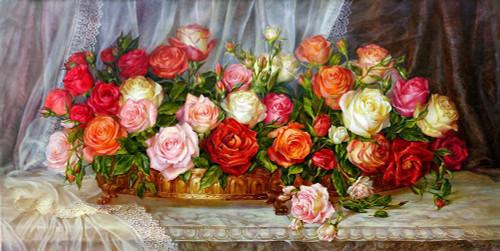 Roses Poster Print by Olga Dandorf - Item # VARPDXDO5