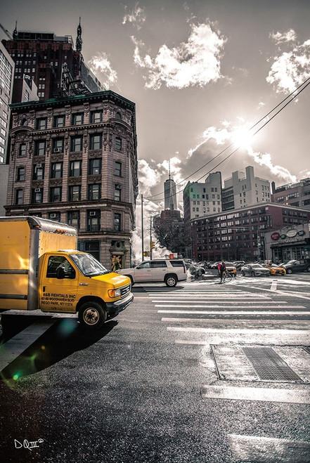 Crosswalks of Manhattan I Poster Print by Donnie Quillen - Item # VARPDXDQ119