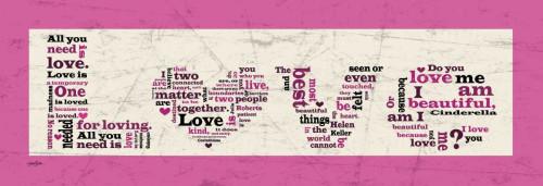 Pink Love Poster Print by Diane Stimson - Item # VARPDXDSPL229B1