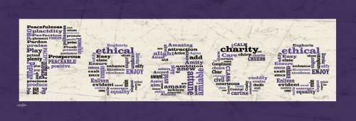 Purple Peace Poster Print by Diane Stimson - Item # VARPDXDSPL229G