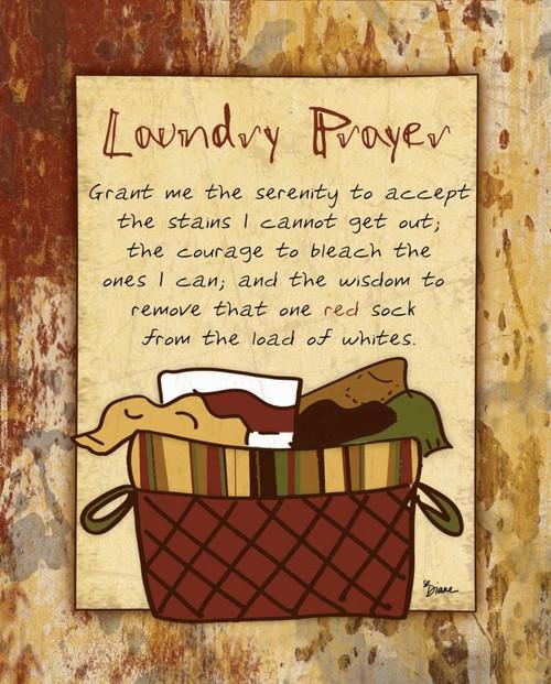 Laundry Prayer Basket Poster Print by Diane Stimson - Item # VARPDXDSRC206A2
