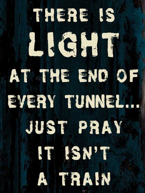 Light Tunnel Poster Print by Diane Stimson - Item # VARPDXDSRC249D