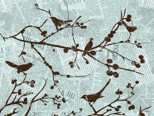 Bird Branches Poster Print by Diane Stimson - Item # VARPDXDSRC256