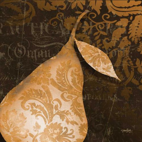 Pear Damask Poster Print by Diane Stimson - Item # VARPDXDSSQ230B