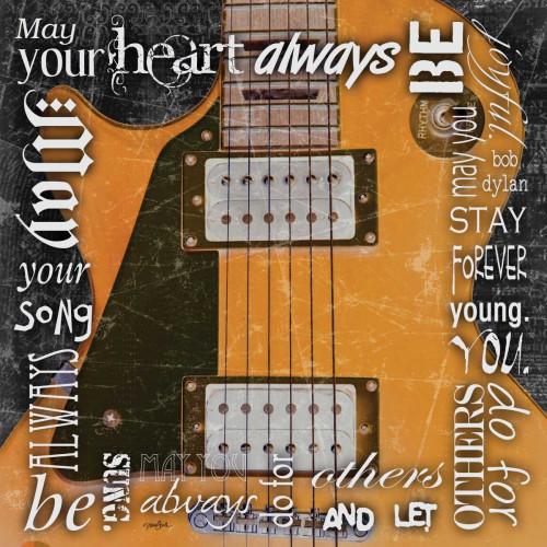 Rock Dylan Poster Print by Diane Stimson - Item # VARPDXDSSQ261B