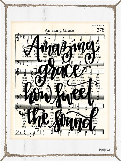 Amazing Grace Poster Print by Imperfect Dust Imperfect Dust - Item # VARPDXDUST148