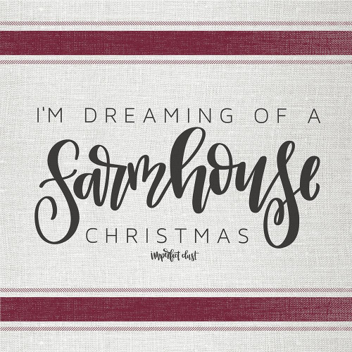 Farmhouse Christmas   Poster Print by Imperfect Dust Imperfect Dust - Item # VARPDXDUST263