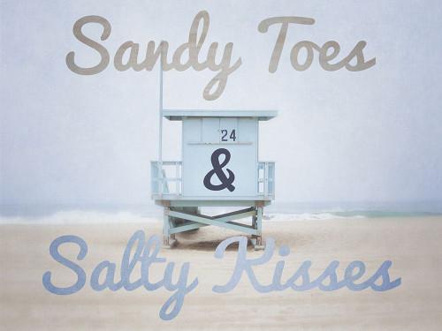 Sandy Toes 1 Poster Print by Elizabeth Urquhart - Item # VARPDXEURC016A