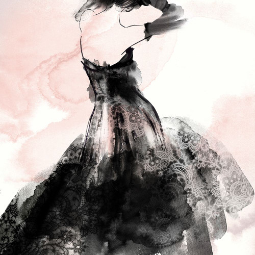 Laced Woman II  Poster Print by Eva Watts - Item # VARPDXEW280A