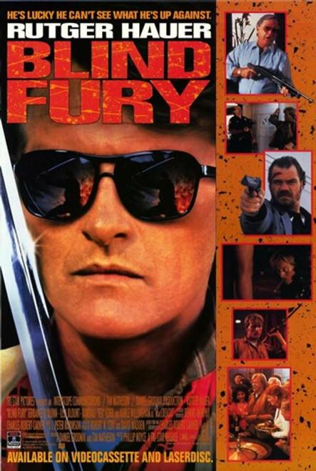 Blind Fury Movie Poster (11 x 17) - Item # MOV210674