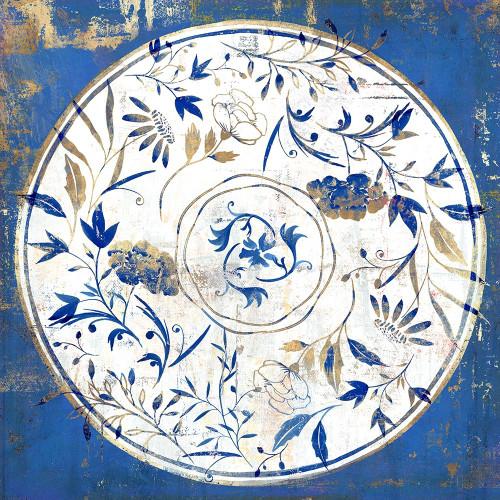 Indgio Porcelain Tile I  Poster Print by Isabelle Z Isabelle Z - Item # VARPDXEZ373A
