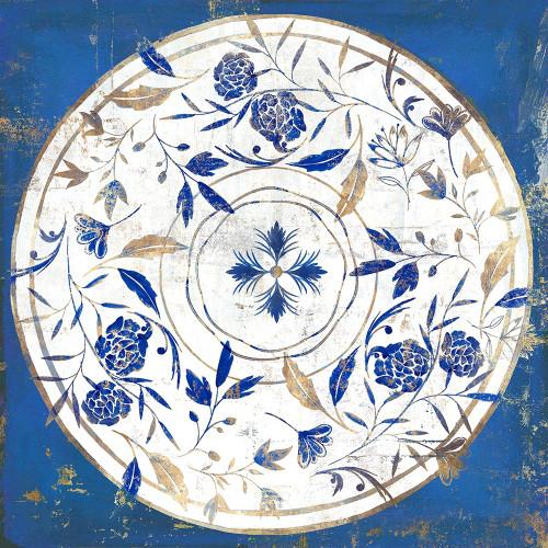 Indgio Porcelain Tile II  Poster Print by Isabelle Z Isabelle Z - Item # VARPDXEZ374A