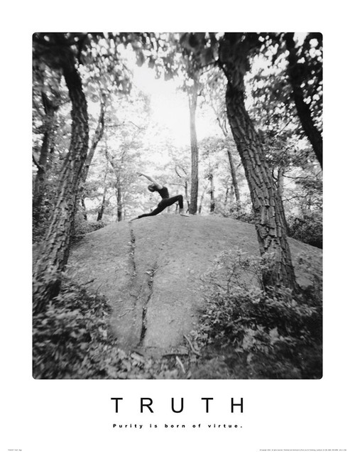 Truth - Yoga Poster Print by Unknown Unknown - Item # VARPDXF102157