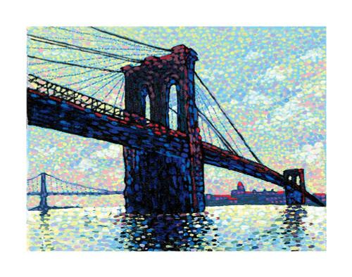 Brooklyn Bridge Poster Print by Frontline Frontline - Item # VARPDXF102306