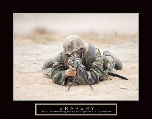 Bravery - Sniper Poster Print by Frontline Frontline - Item # VARPDXF102317