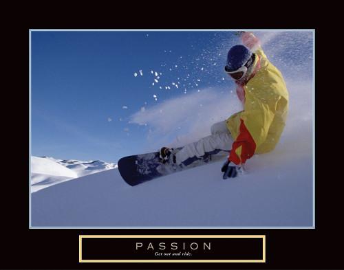 Passion - Snowboarding Poster Print by Frontline Frontline - Item # VARPDXF102350
