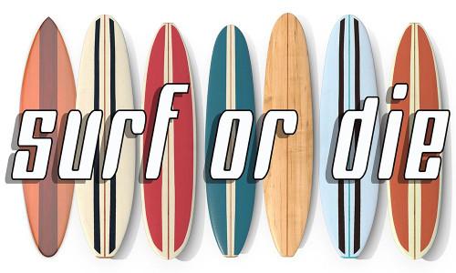 Surf of Die Poster Print by Edward M. Fielding - Item # VARPDXF765D