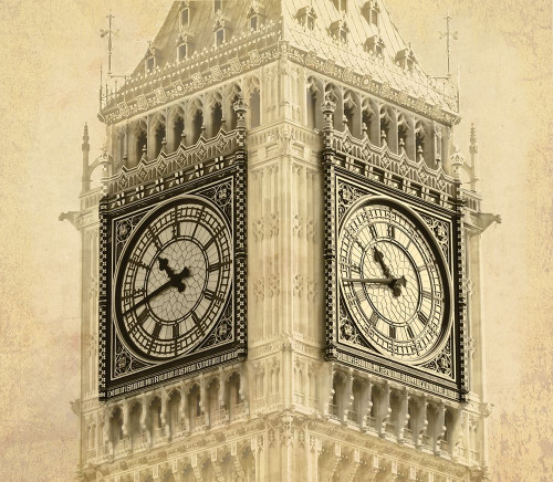 Big Ben Vintage Poster Print by Anonymous Anonymous - Item # VARPDXFAF1318
