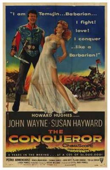 The Conqueror Movie Poster (11 x 17) - Item # MOV209787