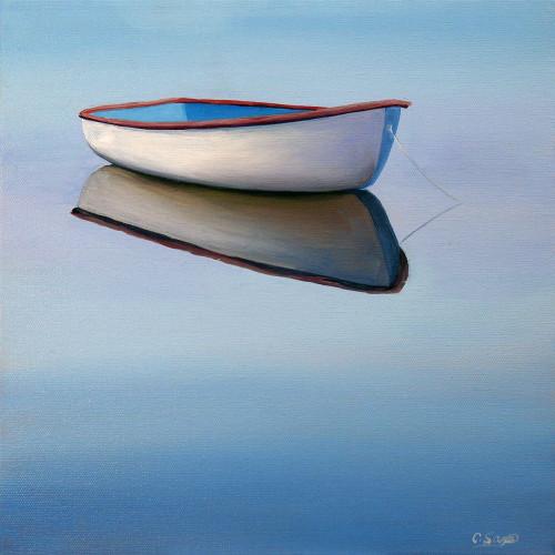 Moored Rowboat II Poster Print by Carol Saxe - Item # VARPDXFAF1368CS