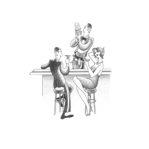 Let''s Do Cocktails Poster Print by Roger  Vilar - Item # VARPDXFAF21