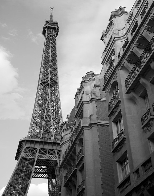 Approaching the Eiffel Tower Poster Print by Anonymous Anonymous - Item # VARPDXFAF4022