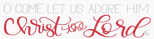 Let Us Adore Him Poster Print by Fearfully Made Creations Fearfully Made Creations - Item # VARPDXFMC104