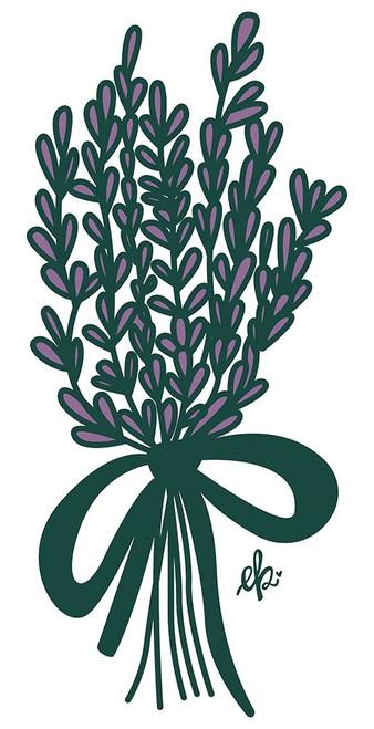 Lilac Bouquet Poster Print by Erin Barrett - Item # VARPDXFTL250