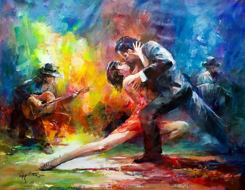 Dance with me Poster Print by Willem Haenraets - Item # VARPDXGA0100461