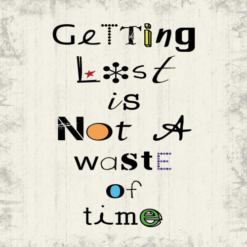 Getting Lost Poster Print by Lauren Gibbons - Item # VARPDXGLSQ123A