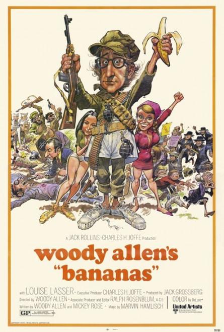 Bananas Movie Poster Print (27 x 40) - Item # MOVCF6322