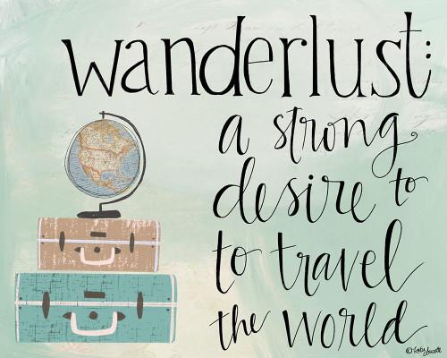 Wanderlust Poster Print by Katie Doucette - Item # VARPDXKA2552