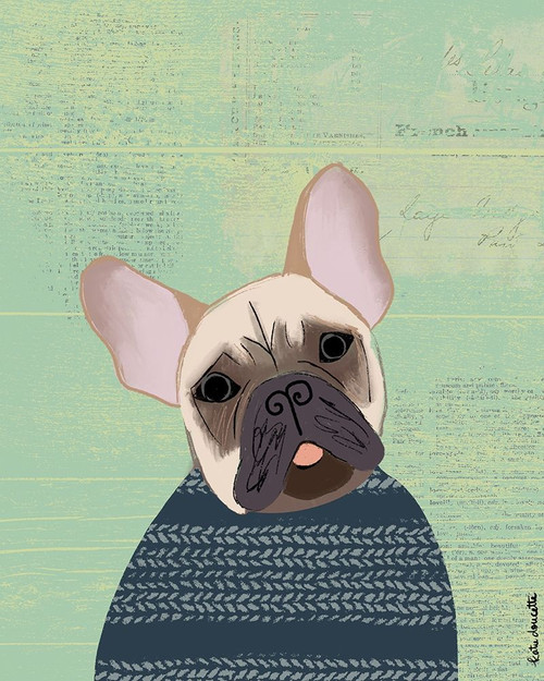 French Bulldog Poster Print by Katie Doucette - Item # VARPDXKA2569