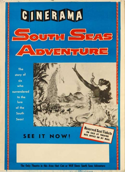 South Seas Adventure Movie Poster Print (27 x 40) - Item # MOVCB91643