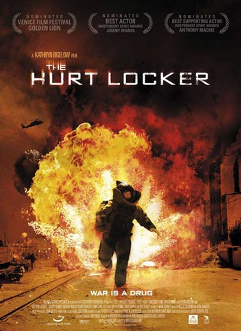 The Hurt Locker, c.2009 - style D Movie Poster (11 x 17) - Item # MOV493224