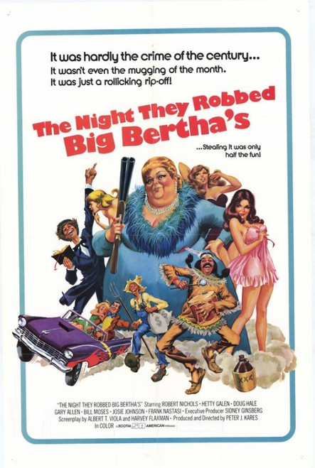 The Night They Robbed Big Berthas Movie Poster Print (27 x 40) - Item # MOVGH5272