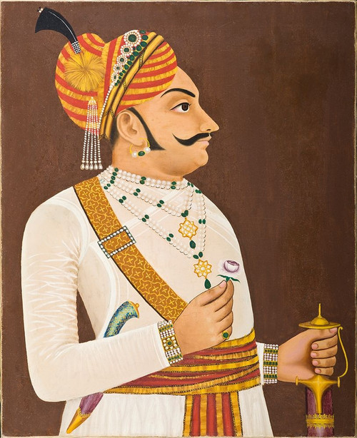Thakur Yasanta Singhji Poster Print by Mughal c1890 Anon - Item # VARPDXMA131