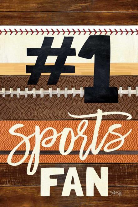#1 Sports Fan Poster Print by Marla Rae - Item # VARPDXMA2492