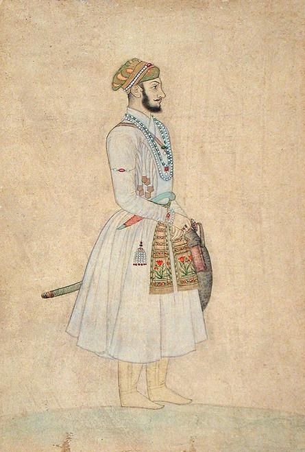 Shah Alam Bahadur Poster Print by Mughal c1690 Anon - Item # VARPDXMA842
