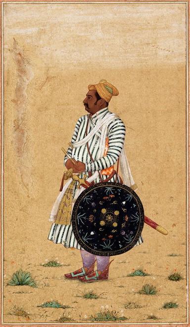 Rao Chattarsal Poster Print by Mughal c1690 Anon - Item # VARPDXMA940