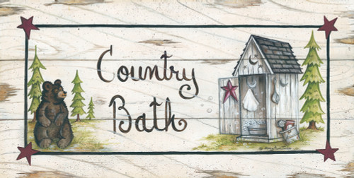 Country Bath Poster Print by Mary Ann June - Item # VARPDXMARY456