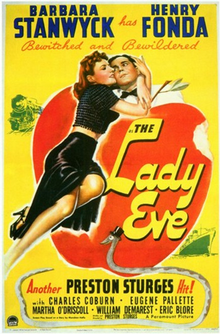 The Lady Eve Movie Poster (11 x 17) - Item # MOVGD3947