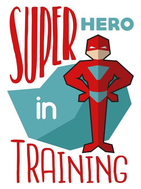 Super Hero Poster Print by Milli Villa - Item # VARPDXMVRC254A