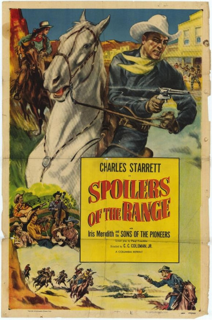 Spoilers of the Range Movie Poster Print (27 x 40) - Item # MOVAH1641