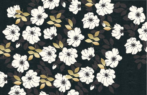 1613 Flora Noir Floral Repeat Poster Print by Candace Allen - Item # VARPDXQCARC038