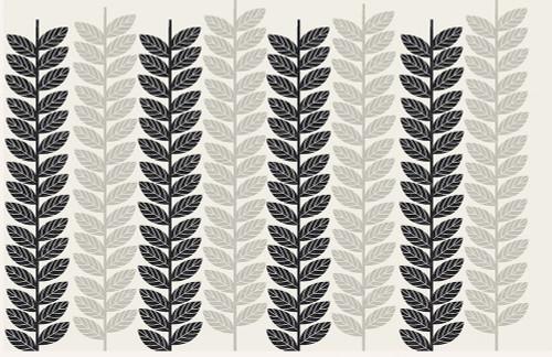 1613 Flora Noir Leaves Poster Print by Candace Allen - Item # VARPDXQCARC039
